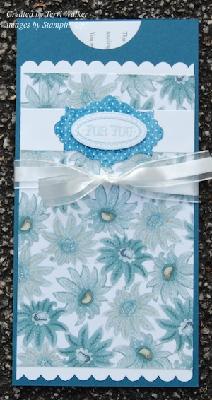 Stampin' Up! Gift Certificate - Nutz