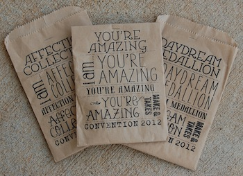 Convention Favor Bags
