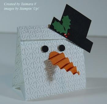 Taimara Snowman Candy holder