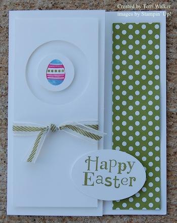 Spring Samper Easter card
