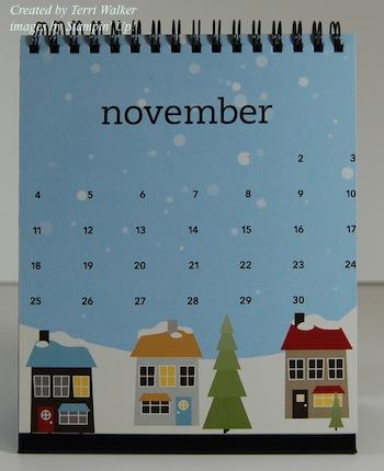 MDS Calendar November