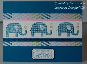 Patterned Occasions Elephants