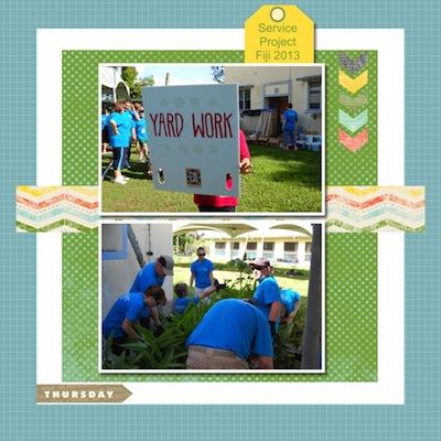 Fiji Service Project