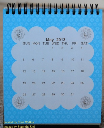 May My Digital Studio Calendar