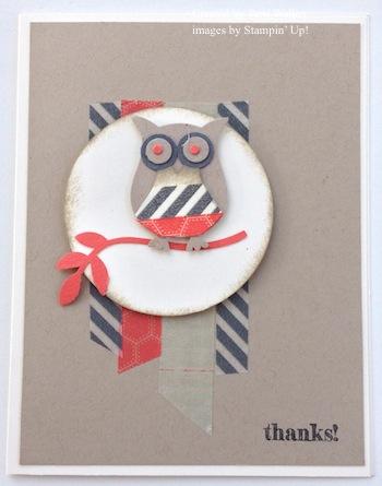 Washi Tape Owl 2