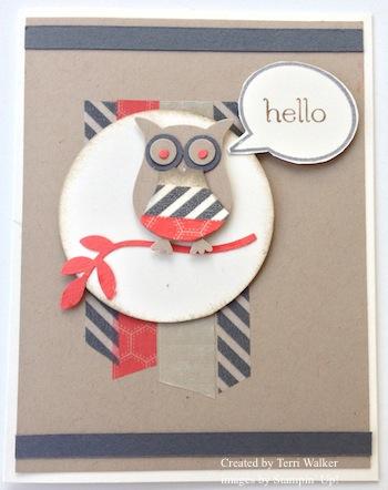 Washi Tape Owl 1