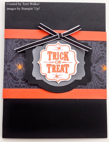 Trick or Treat Deco Labels