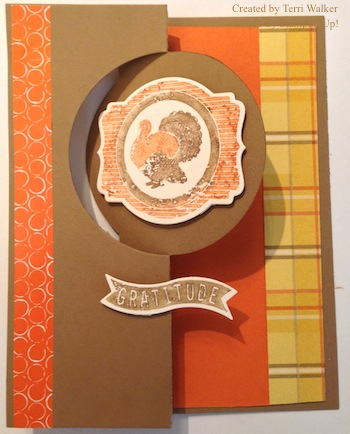 Harvest of Thanks Circle Card