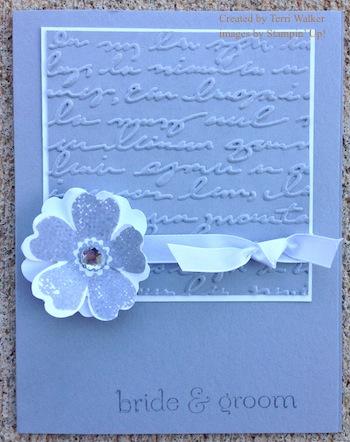Flower Shop Wedding Card