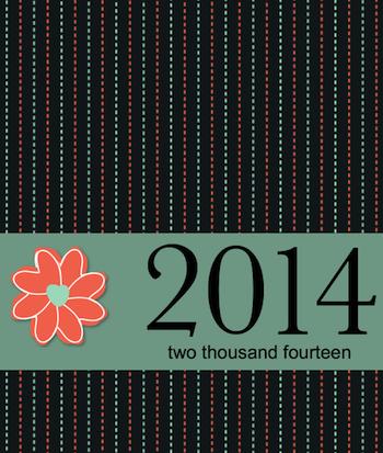 2014 Desktop Calendar