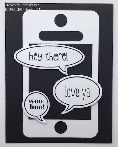 Just Sayin' phone