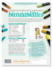 Blendabilities flyer