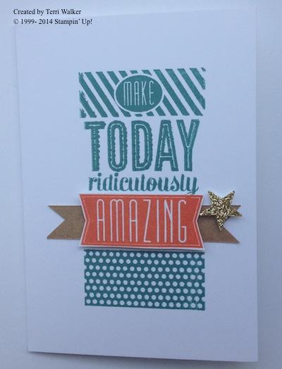 Amazing Birthday Card 1