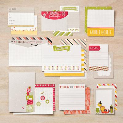 Seasonal Snapshot Card Collection