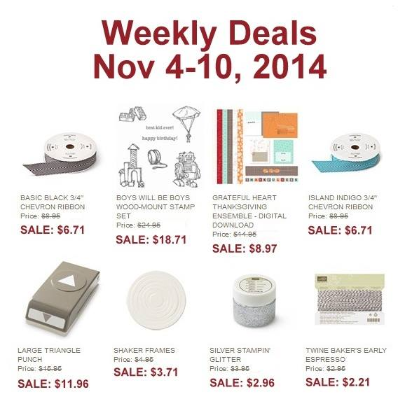 Weekly Deals Nov 4