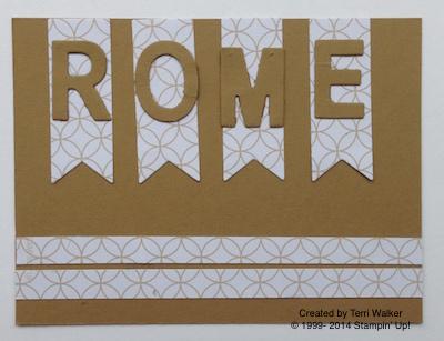 Rome pocket card