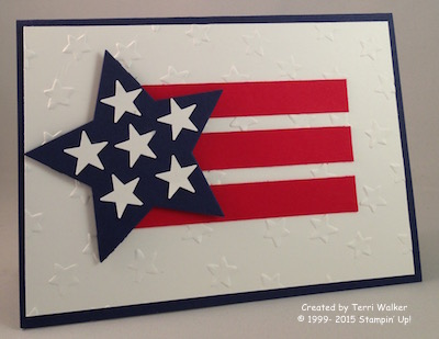 4th July card