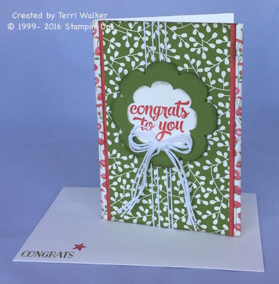 Congrats with envelope