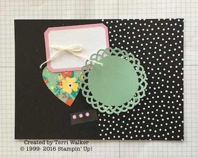 Card #12 supplies