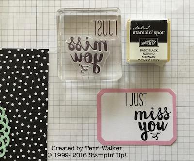 Card #12 stamp phrase