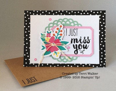 Card 12 with envelope
