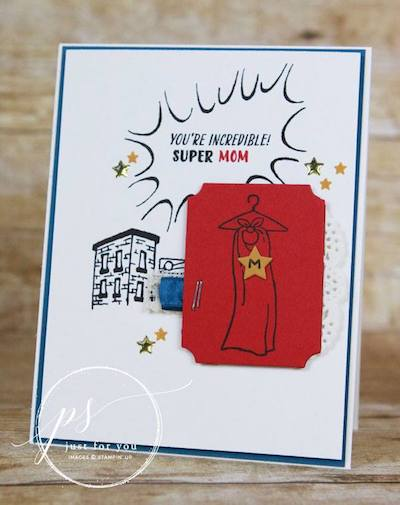 A Delightful Birthday Card For A Tremendous Mom Nutz About Stamping