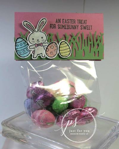 Basket Bunch Candy bag