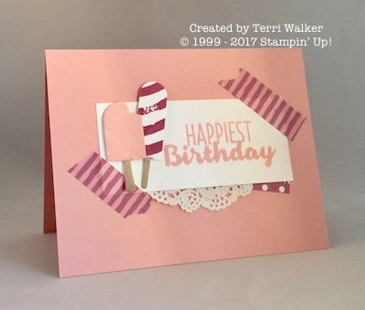 Cool Treats birthday card