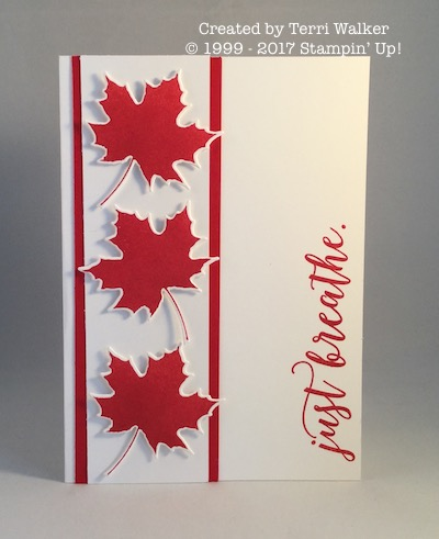 Colorful Season Canada Day card