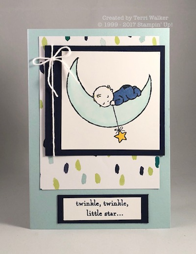 Moon Baby watercolor