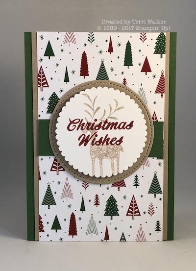 Merry Mistletoe reindeer