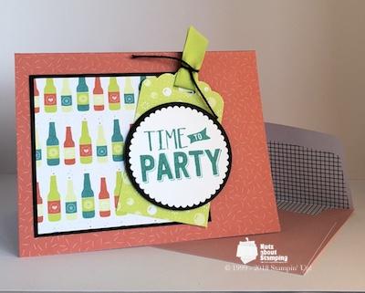 Confetti Celebration party envelope
