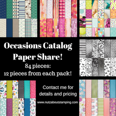 Occasions CatalogPaper Share!