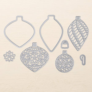 Delicate Ornaments thinlits