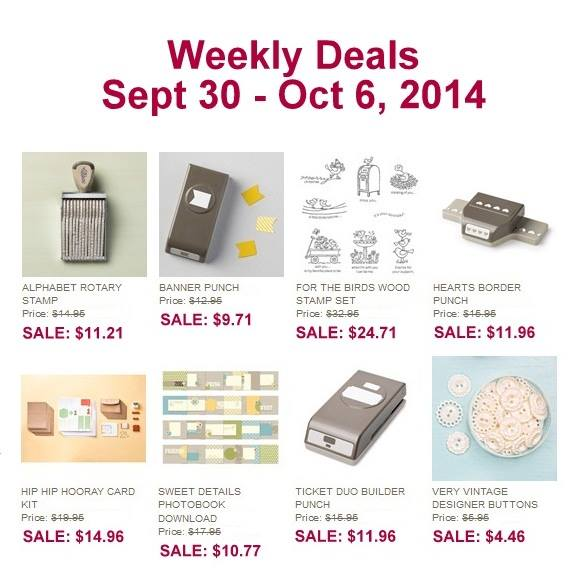 Weekly Deals Sept 30