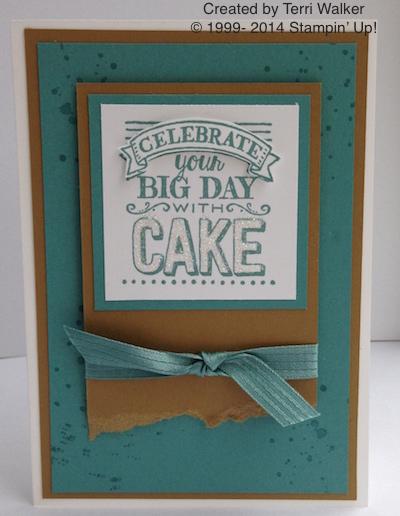 Big Day Cake