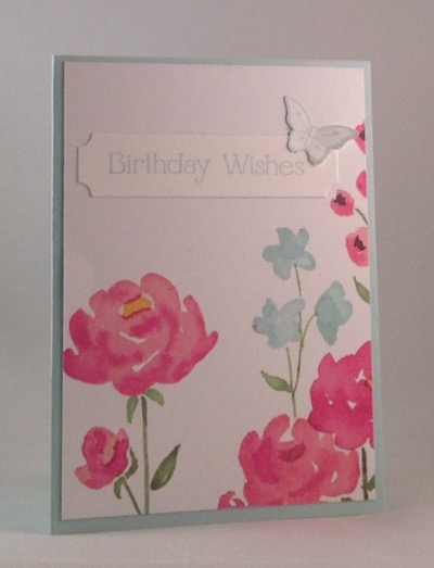 Painted Blooms birthday
