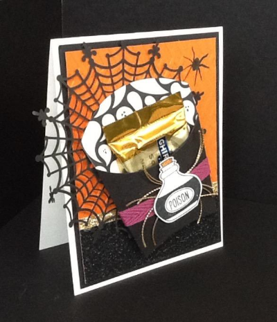 Halloween pocket card