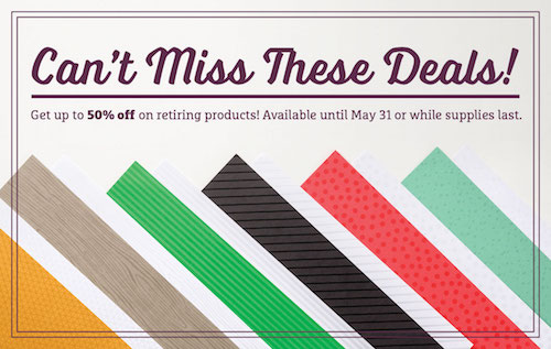 Last chance for retiring Stampin' Up! products! - Nutz about