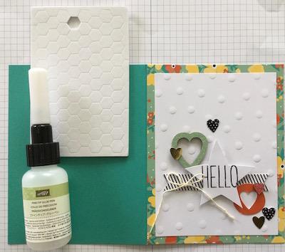Card kit card 1 adhesives