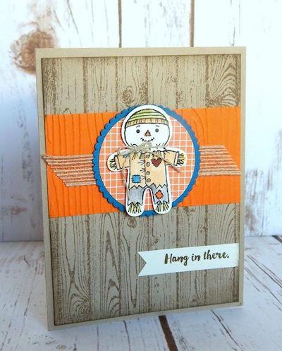 Halloween Cookie Cutter card