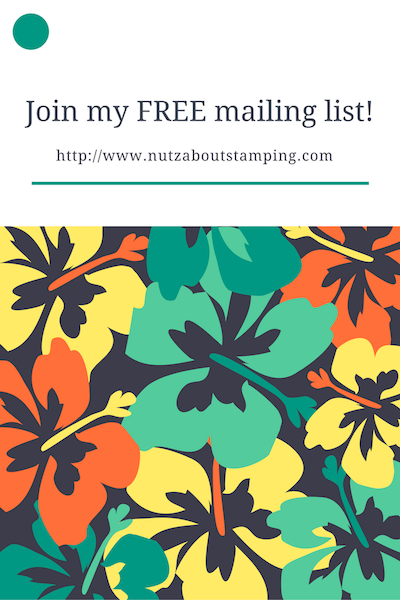 Join my mailing list!