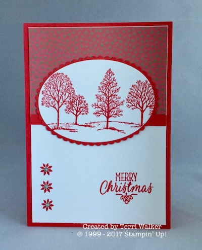 Lovely as a Tree challenge card