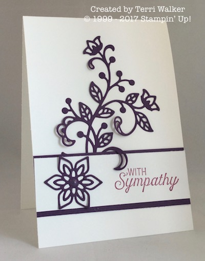 Flourishing Phrases sympathy card 2