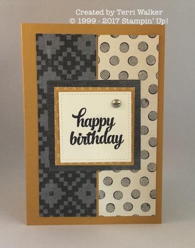 Tin of Cards masculine birthday