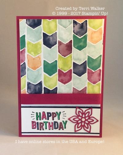 Confetti Celebration birthday card