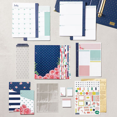 Love Planner kit pieces
