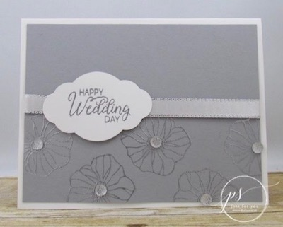 Oh So Eclectic wedding card