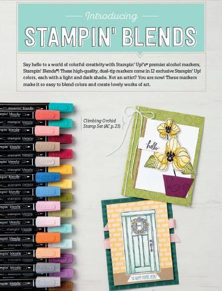Stampin' Blends promo