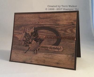 Wood Textures birthday